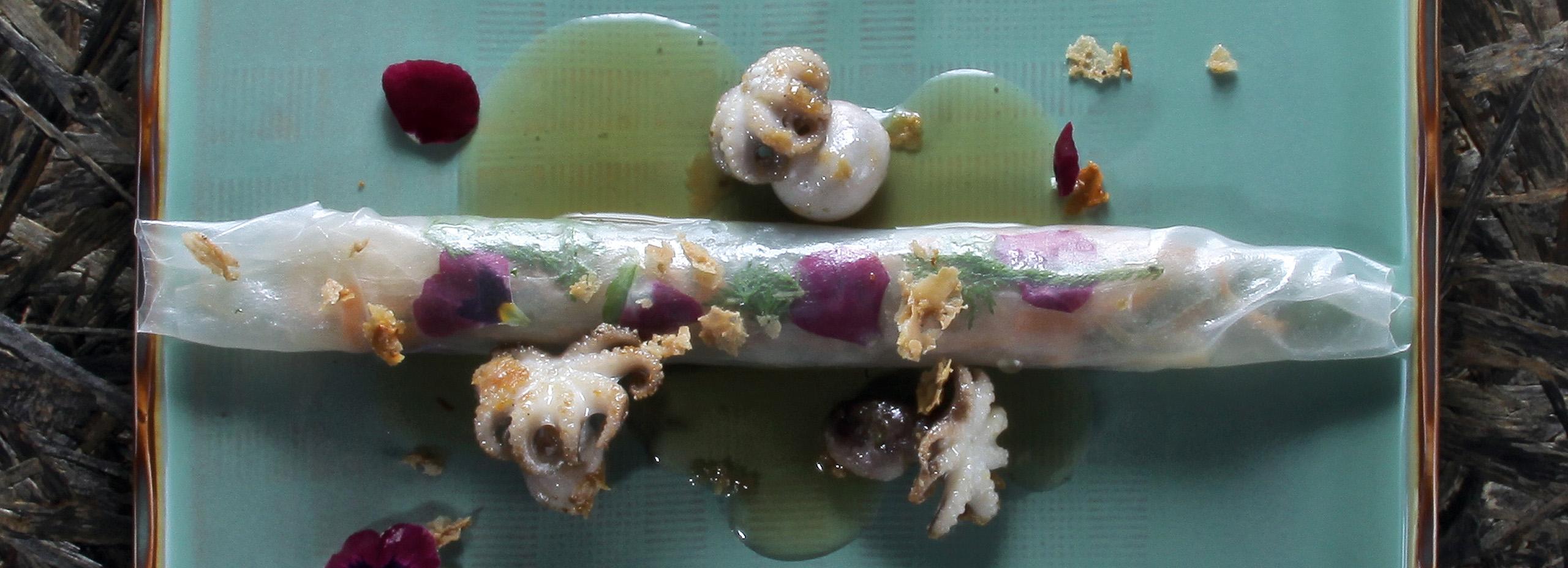 Gourmetessen Meeresfrüchte