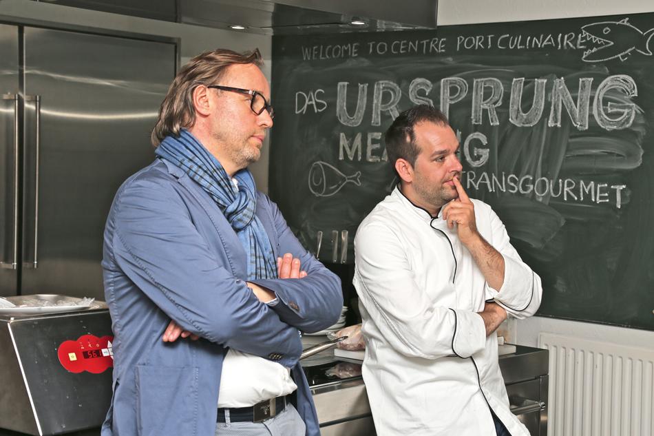 Thomas Bühner und Gilbert Korn-Fourcade