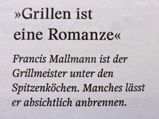 Grillen ist eine Romanze