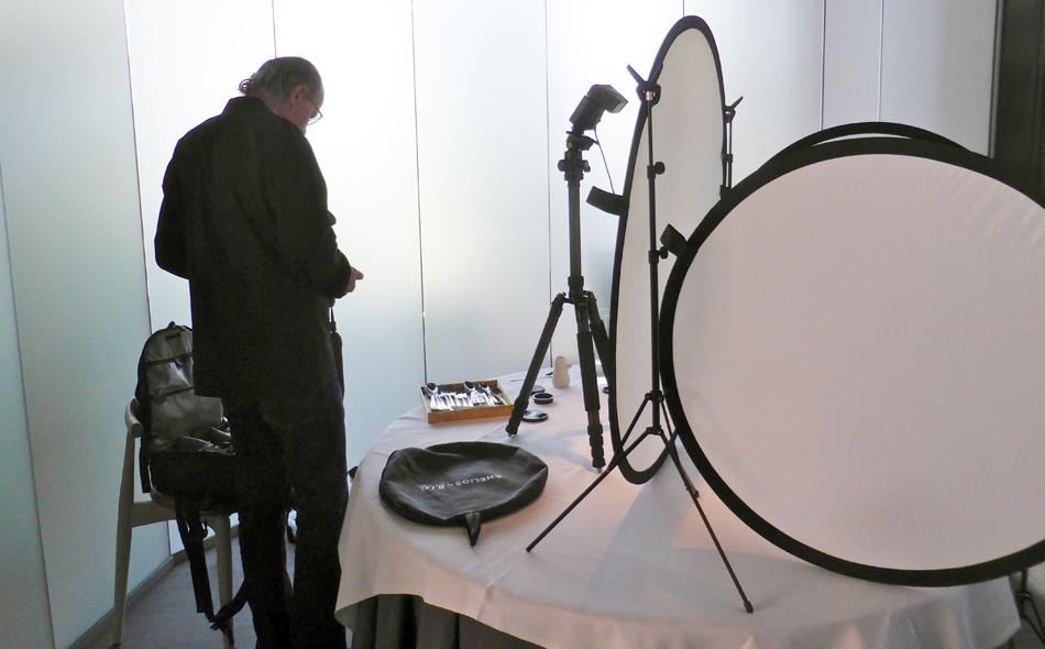 Thomas Ruhl, Fotoshooting im Maaemo