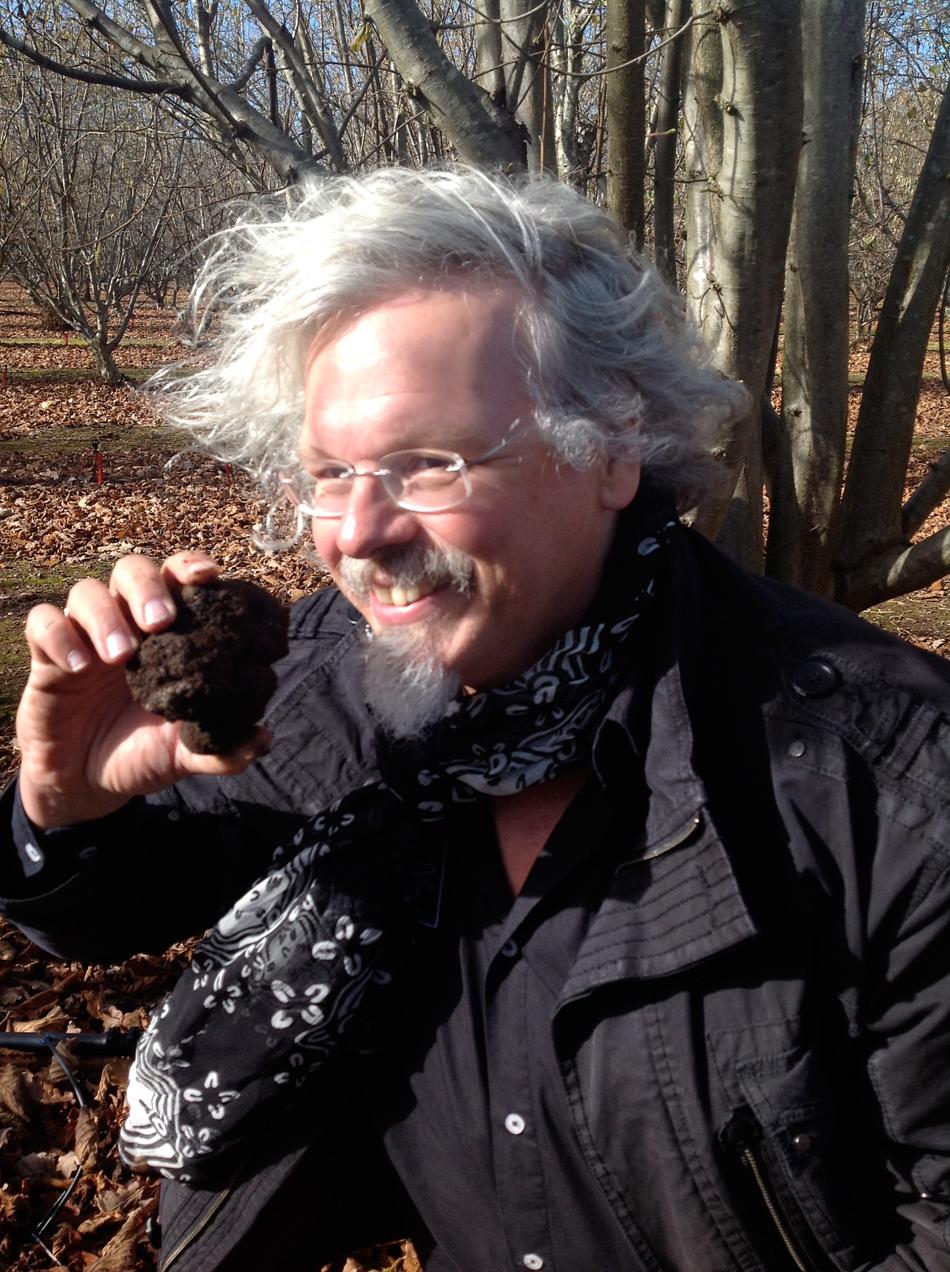Ralf Bos mit Australischem Winteredeltrüffel