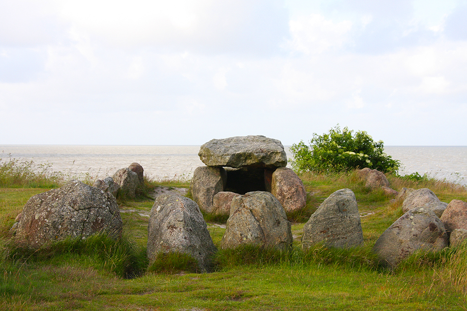 Megalithanlage Harhoog in Keitum
