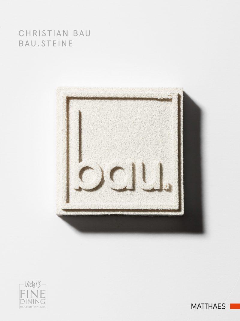 Christian Bau: Bau.Steine. Matthaes Verlag, Stuttgart 2018. 360 Seiten, 79,90 Euro