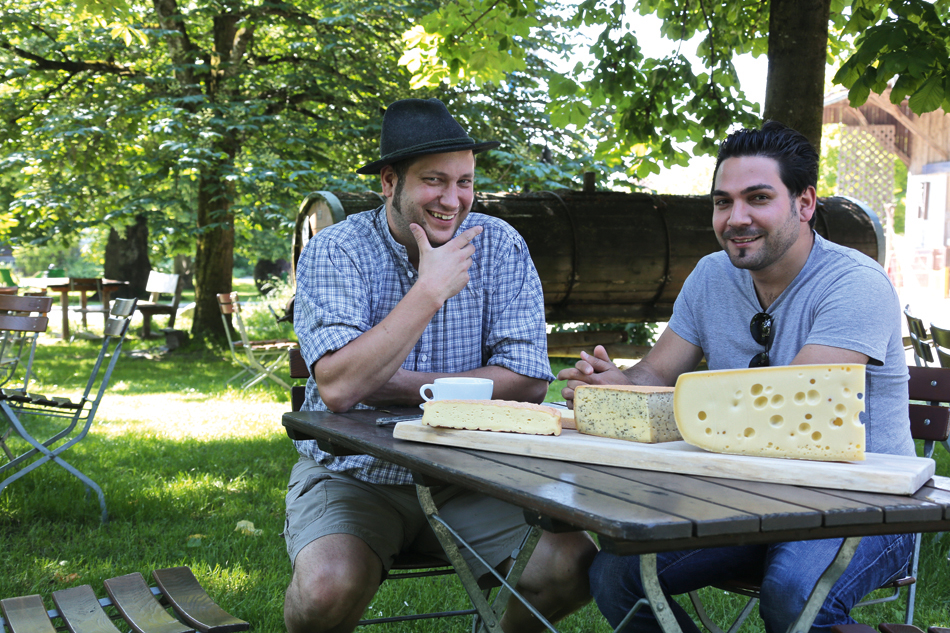 Käsetasting in der Dorfkäserei Stadler mit Chef Serkan Güzelcoban