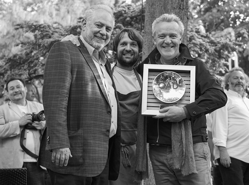 Steve Plotnicki mit René Redzepi, Noma und Alain Passard, L'Arpège