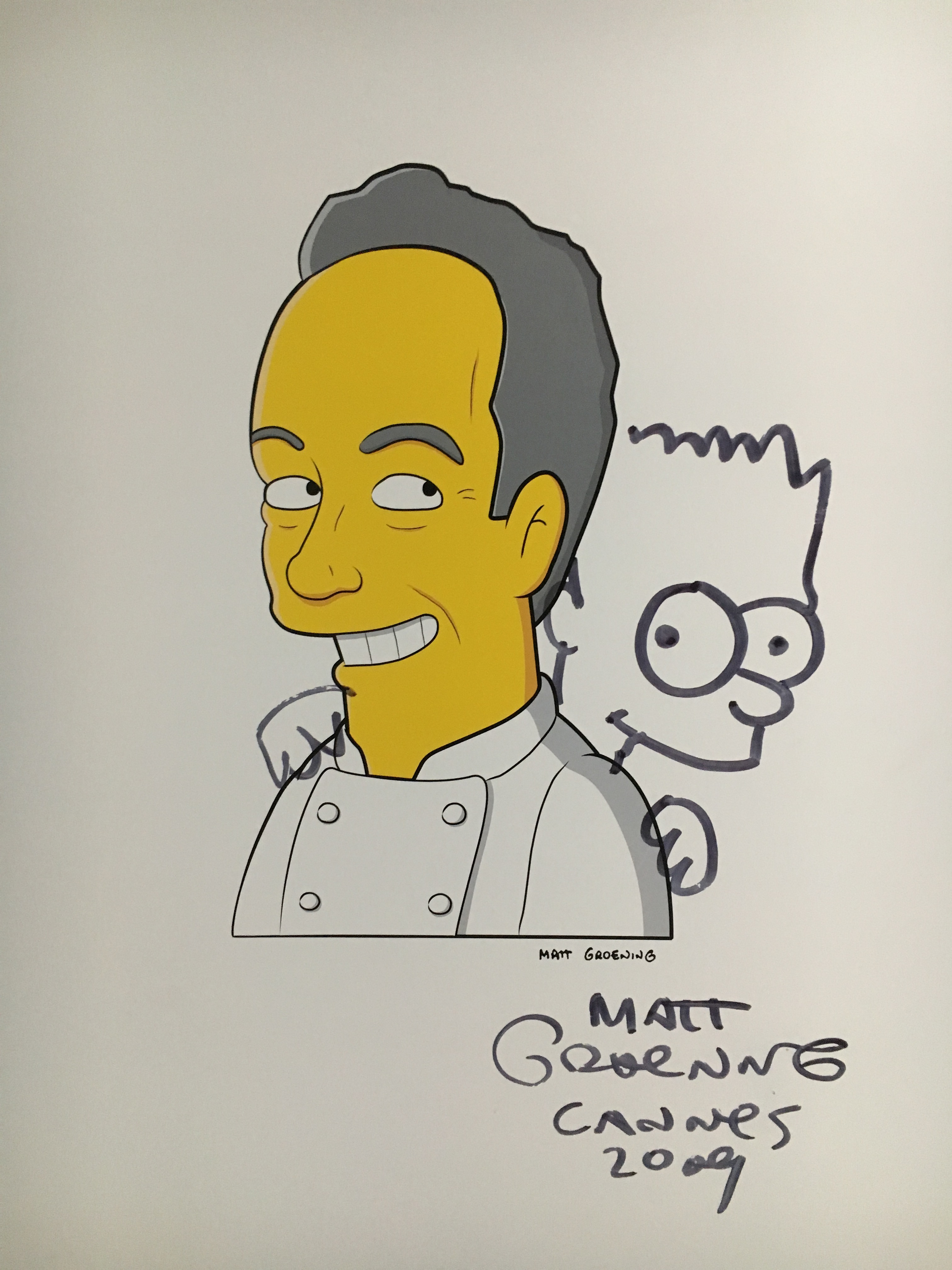 Ferran Adrià Simpsons