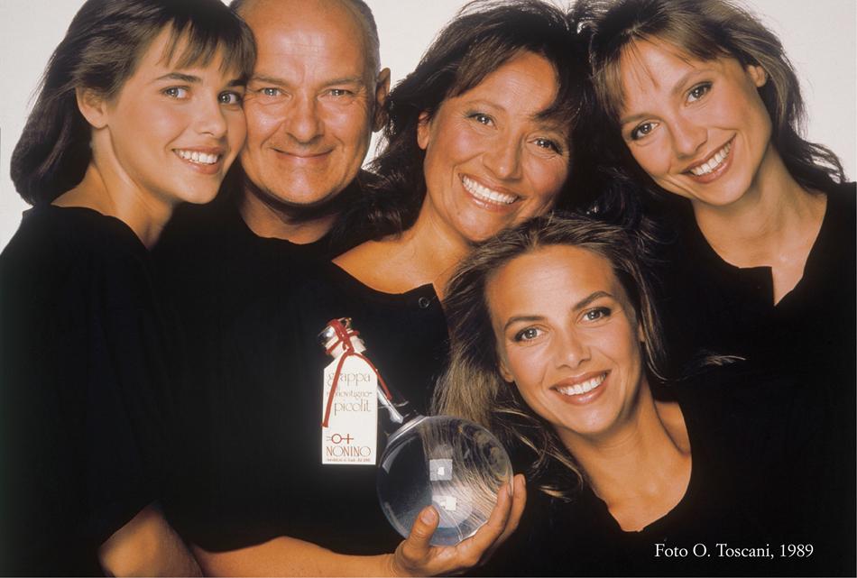 Nonino Family_O Toscani_1989