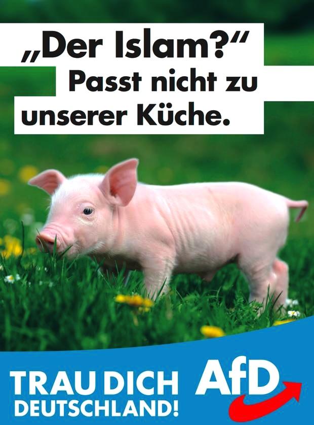 AfD Plakat