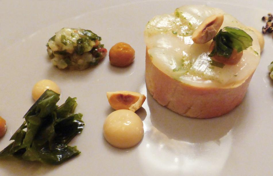 Das kulinarische Werk: Thomas Bühner: Gänseleber – Meersalat – Jakobsmuschel
