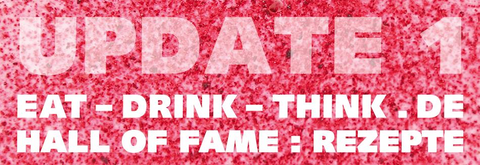 Hall of Fame I: Rezepte, Update 1